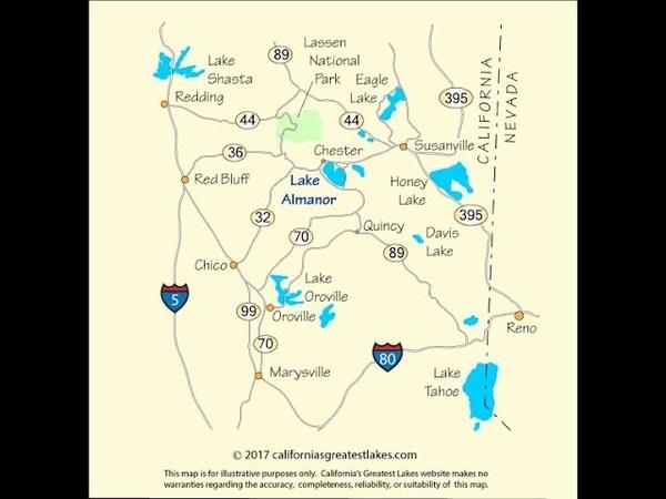 Lake Almanor ~ Key to An Oroville Dam Failure