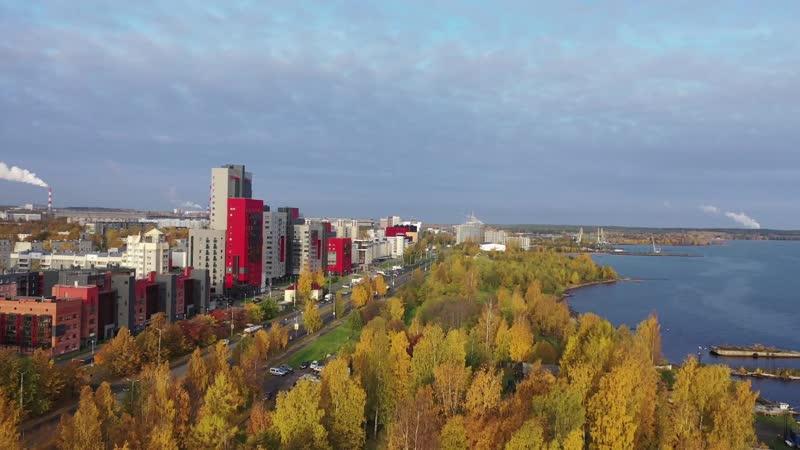 Петрозаводск лето осень зима 2019 Карелия
