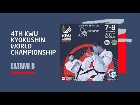 4TH KWU KYOKUSHIN WORLD CHAMPIONSHIP - 7 DEC 2019 TATAMI B