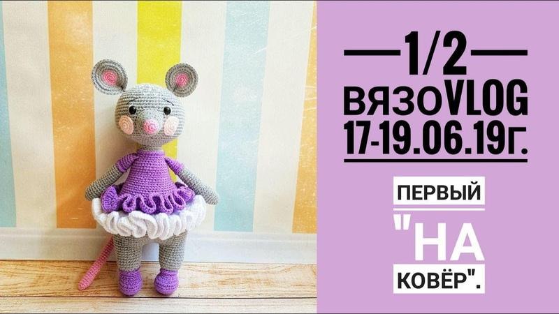 1/2 ВязоVLOG 17-19.6.19 г. Первый на ковёр.