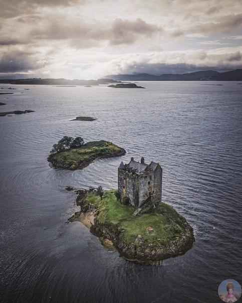 Прекрасная туманная Шотландия