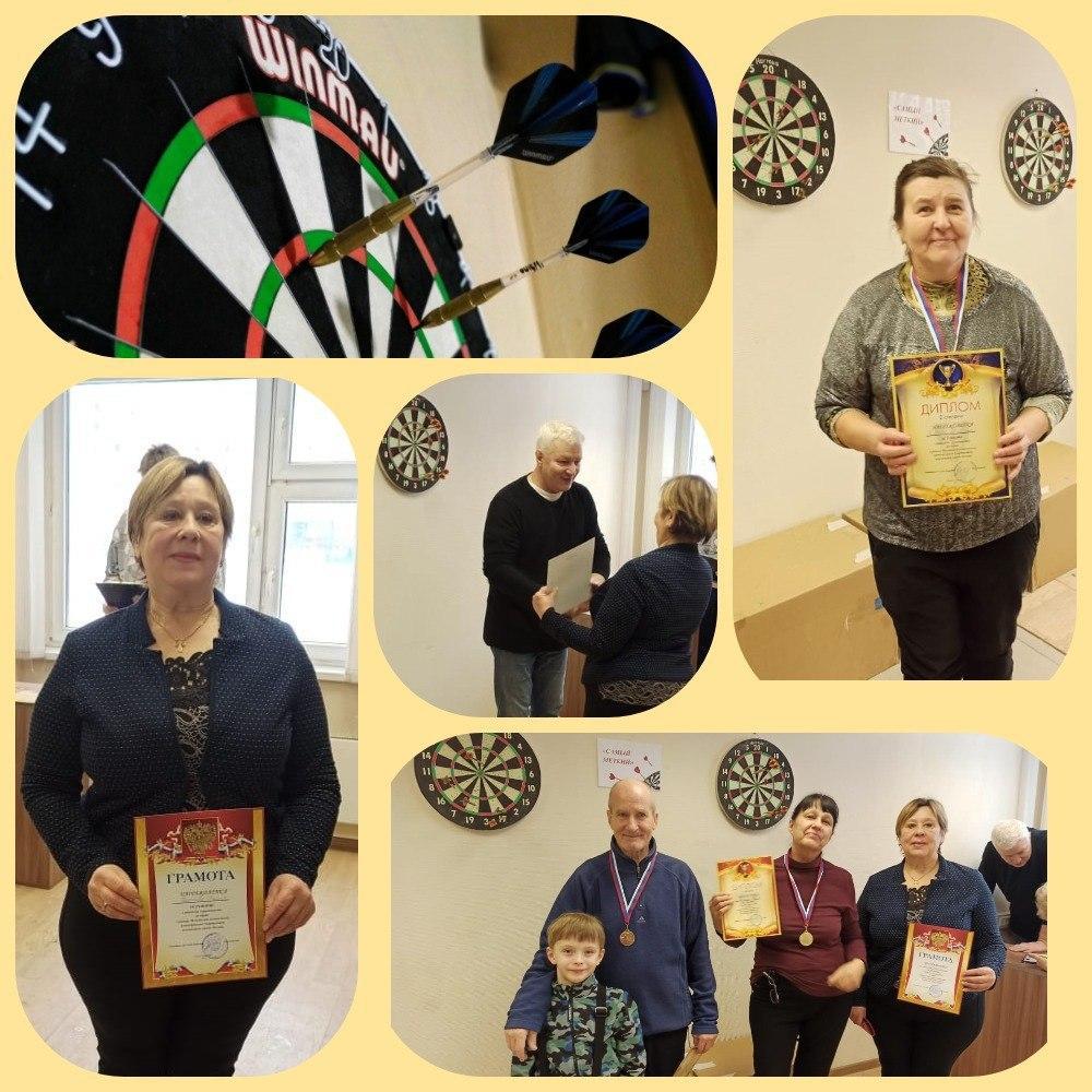 Турнир по дартсу для пенсионеров состоялся в досугово-спортивном центре «Некрасовка»