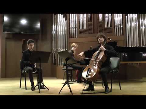J. BRAHMS Trio for Clarinet, Violoncello and Piano Opus 114