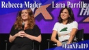 Rebecca Mader Lana Parrilla - Once Upon a Time Panel/QA - FanX 2019