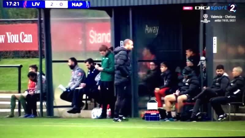 ГОООООЛ! Ливерпуль U19 2-0