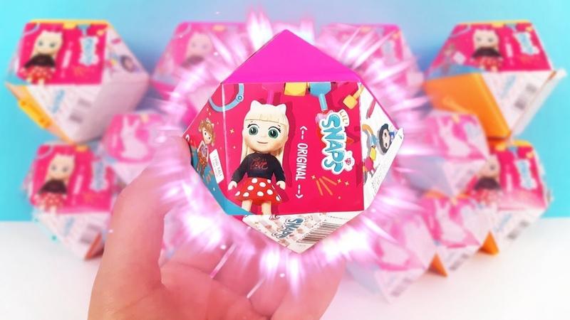 LIL SNAPS Zapf Creation КУКЛЫ ТРАНСФОРМЕРЫ новые игрушки для девочек Dolls Surprise unboxing