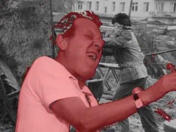 Phil Minton Хреново эхо Неопознанное движение Unidentified movement