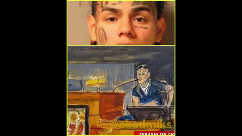 This is allegedly leaked audio of tekashi69 in court on the stand .