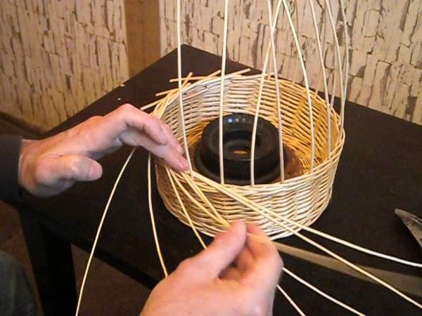 Плетение кромки(розга)-Weaving edge
