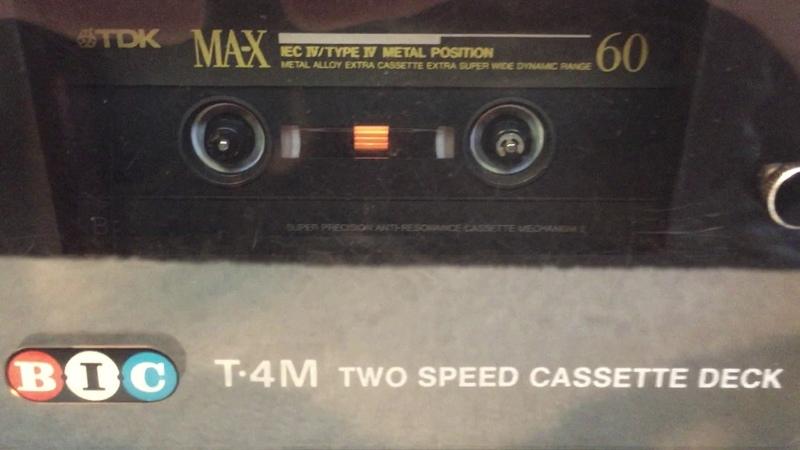 BIC T-4M Cassette deck Demo
