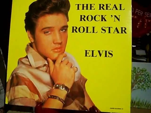 The Real Rock'n Roll Star Elvis - Can't Help Falling In Love