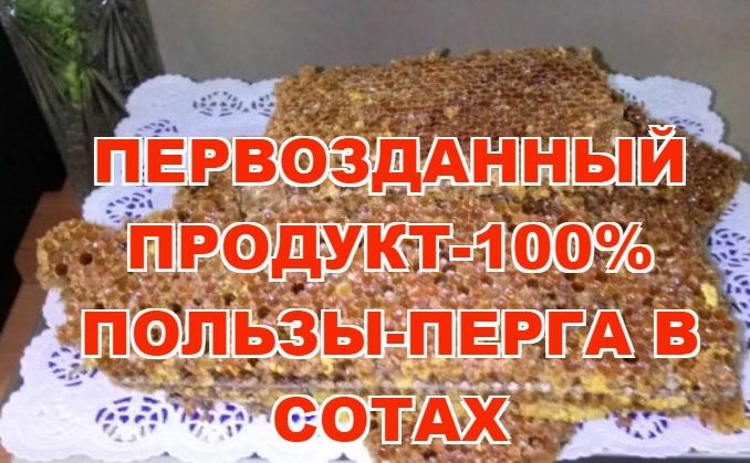 Пыльца цветочная купить в СПб
