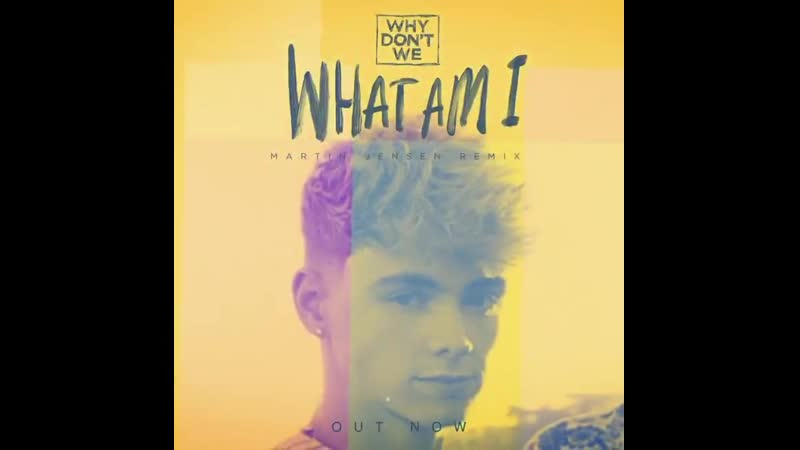 Ayeee new WhatAmI remix by Martin Jensen out now