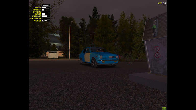 MSC/ Evening Driving/ Top Speed/ Low Oil Level