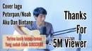 NOAH/PETERPAN - AKU DAN BINTANG (lirik) Cover Akustik Gitar by Saeful Misbah
