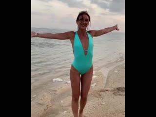 Оля Бузова и моречко на Бали