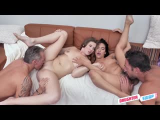 Stephie Staar and Adrian Hush - Cinephile Cum Swapping - Porno, All Sex, Hardcore, Blowjob, Group, Porn, Порно
