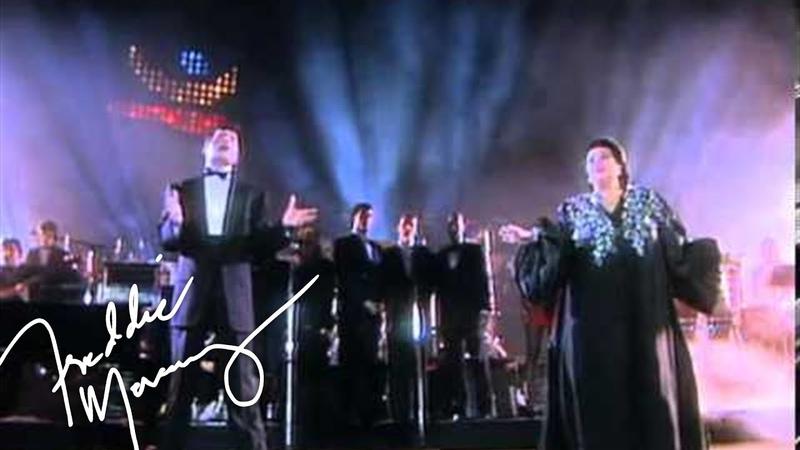 Freddie Mercury Montserrat Caballé - Barcelona (Live at La Nit, 1988)