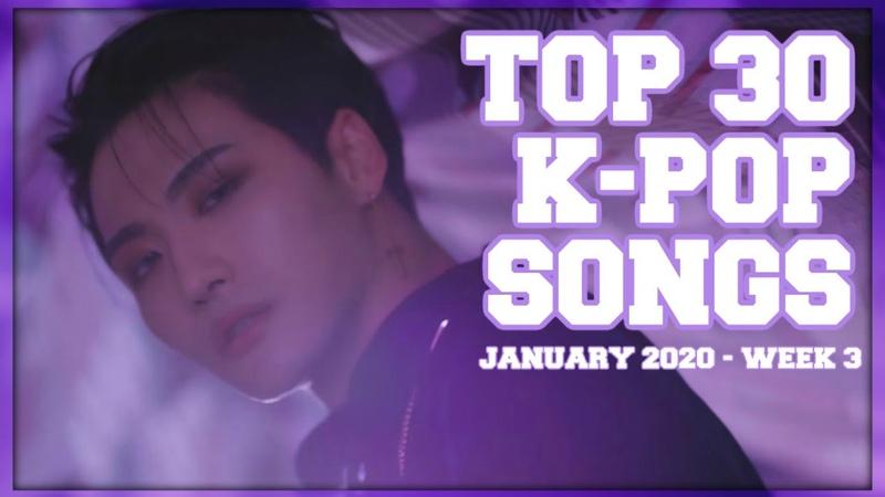 [TOP 30] K-Ville Staffs K-pop Songs Chart - January 2020 (Week 3)