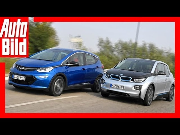 Opel Ampera e vs BMW i3 Goldenes Lenkrad 2017 Test Review Details