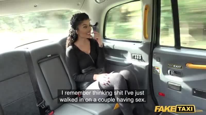 Fake Taxi Indian Marina Maya big ass bounces on Johns