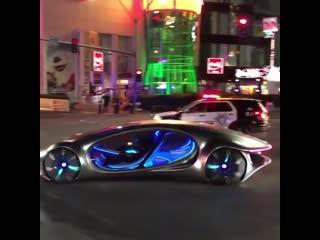 Mercedes vision avtr concept