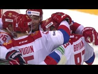 Sochi Hockey Open. Авангард - Россия (олимп.). Обзор матча