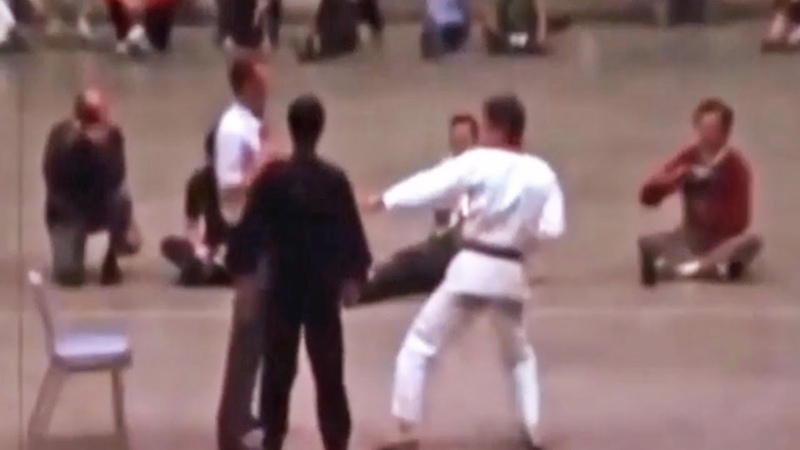 Joe Lewis Tries To Teach Bruce Lee Karate . Then This Happened NEW AMAZING FOOTAGE