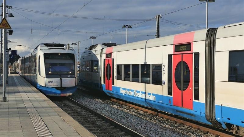 Orkantief Sabine legt den Zugverkehr lahm
