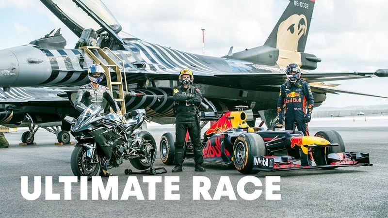 Head To Head With The World's Fastest Vehicles Ultimate Race