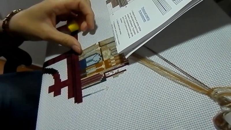 Как вышивать шерстяными нитками ровные крестикивышиваем и беседуем