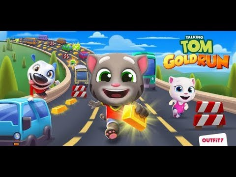 Gaming on Huawei Y9 Prime 2019 Full HD Talking Tom Gold Run 1080p 60FPS