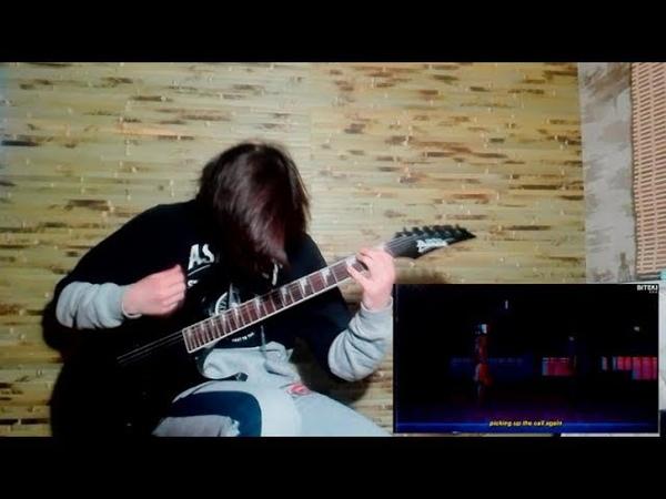 Gothurted ft. yung doza - crying (G_Kobu flip) guitar playthrough