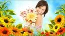Красивая видео открытка Поздравление с днем рождения в мае женщине