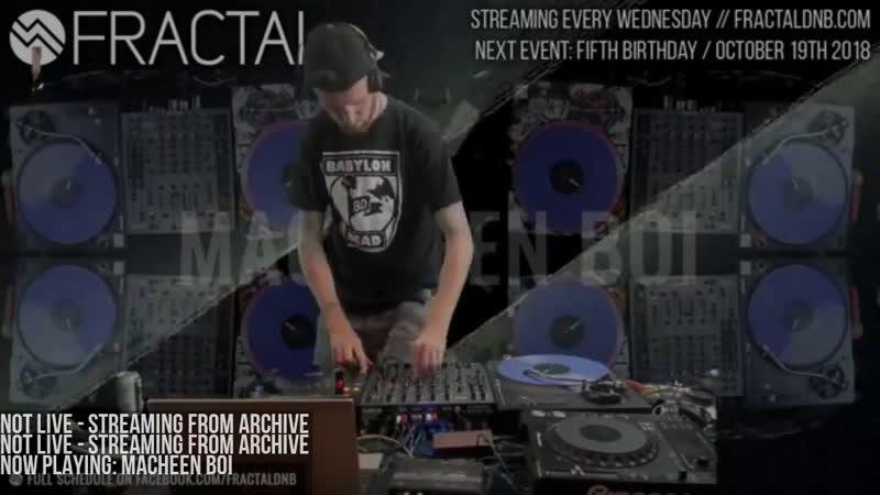 Fractal TV - Hardcore Drum Bass 247 Stream