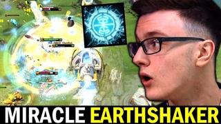 MIRACLE Earthshaker Beautiful Plays Try Hard ft Mindcontrol & Waga Dota 2