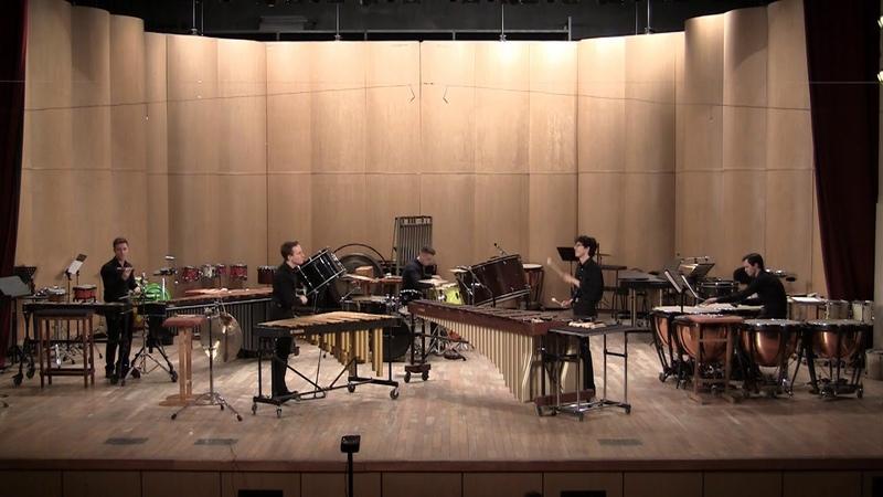 Michael League Lingus Gnesin percussion ensemble