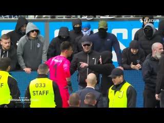 Фаны Грассхоппера заставили снимать игроков свои футболки