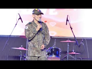 FANCAM 190921 Ынкван - I Can't Live Without You + Beautiful Pain + Missing You @ Igija Festival
