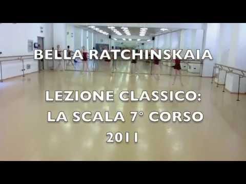 Bella Ratchinskaia Lezione 7 corso La Scala 2011