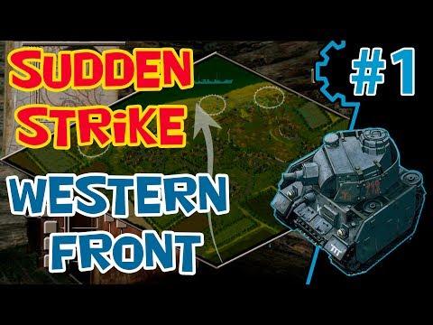 Стратегия про Вторую Мировую RWG ToW | мод Sudden Strike 2 | Кампания Западный фронт 1