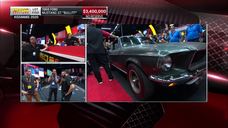 1968 Bullitt Mustang sells for $3 74 million at Mecum