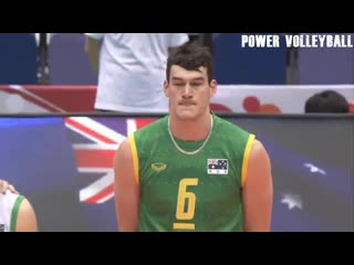 212cm tall volleyball giant made 50 points in one match (hd)