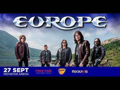 Europe en Chile - Full Concert - Santiago, 27-Sep-2019, Movistar Arena