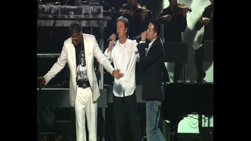 Jay Z Linkin Park Paul Mcartney Numb Encore Yesterday LIVE at The 48th Annual Grammy Awards HDfan