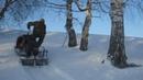 Гусеницы Полярник на снегоходе буран