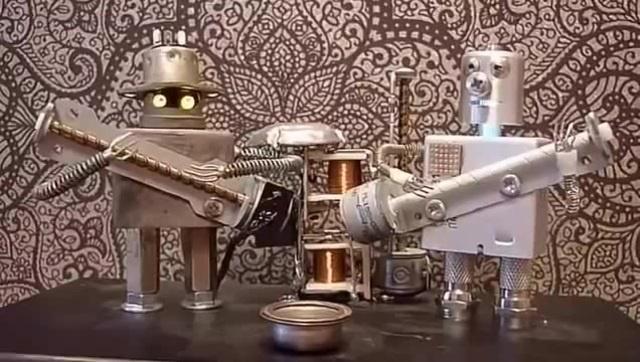 Floppy Music Robo-Band. Rondo alla Turca