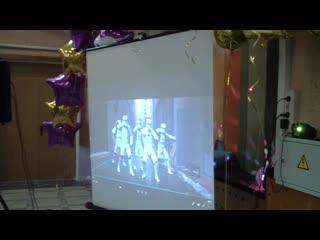 Флешмоб на ВЫПУСКНОМ под проектор. Нарезки веселых танцев из фильмов