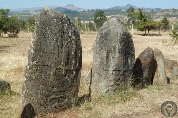 Стелы Тия - о древних артефактах, найденных на территории Эфиопии Эфиопия не просто маленькая страна, расположенная на территории Африки. У нее очень богатая древняя история. Есть здесь и такие