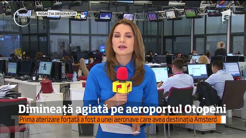 Zi cu incidente pe aeroportul internaţional Henri Coandă: Două avioane au fost nevoite să aterizeze